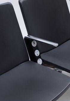 leManoosh Smart Furniture, Modular Furniture, Colorful Furniture, Chair Design, Furniture Design, Bus Interior, Airport Design, Airport Lounge, Public Seating