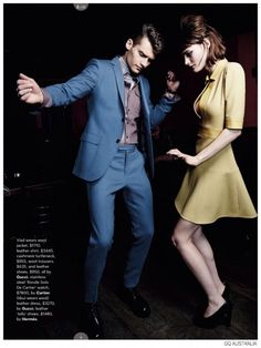 e689623d0f68 Vladimir Ivanov + Demy Matzen Model 60s Inspired Fashions for GQ Australia
