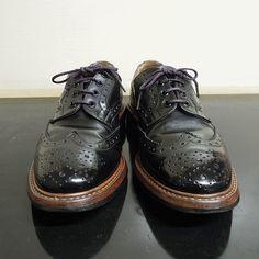 今回はiphoneカメラではなくコンデジで撮影してPCからpostしてみた(_;) PCからの投稿は複数の画像はできないみたいですね  #trickers  #trickersshoes  #trickersbourton  #靴バカドットコム  #靴バカ #足元クラブ  #足元くら部  #足元倶楽部  #あしもと倶楽部  #薄化粧推進派 Womens Golf Shoes, Ladies Golf, Brogues, Shoe Collection, Get Dressed, Oxford Shoes, Dress Shoes, Footwear, Lace Up