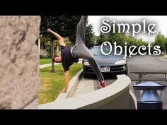 Only a Bench - Simple Object Parkour Training - YouTube
