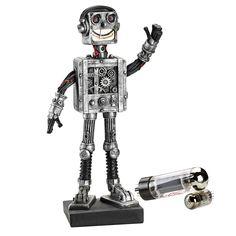 Reboot the Robot Statue