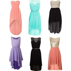 high low dresses - Google Search