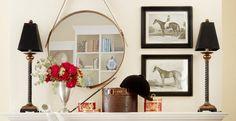 Mantel Decorating - Six Ways: Equestrian   Wayfair