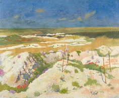 William Orpen (Irish, A Grave and a Mine Crater at La Boiselle, August Oil on canvas, x cm. Ww1 Art, Glasgow Museum, Research Images, Department Of Veterans Affairs, Old Master, Your Paintings, Wwi, Lovers Art, First World