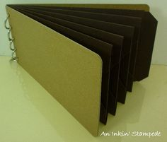 #Earlyespresso #accucut #pockettag #album is perfect for any masculine or earthy vintage album theme.
