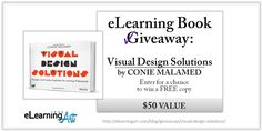 Book Giveaway – eLearning Coach's Visual Design Solutions