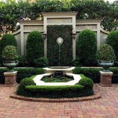 40 Simple DIY Backyard Design Ideas on A Bugdet – backyard design ideas Garden Fountains, Garden Landscape Design, Garden Structures, Water Garden, Garden Pool, Herb Garden, Backyard Landscaping, Landscaping Ideas, Backyard Ideas