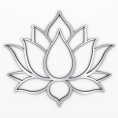 XL Lotus Flower Metal Wall Art with Brushed Metal Finish (measures 48 x Marked by crisp modern lines that only a laser can create, this sacred design is precision cut from high grade stainless steel thats both durable and lightweight.Lotus flowers me Metal Sculpture Wall Art, Metal Sculpture Artists, Contemporary Sculpture, Tree Sculpture, Metal Sculptures, Contemporary Decor, Abstract Sculpture, Modern Art, Sculpture Ideas