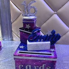 Paris tema Sweet 16 Card Box espléndido Torre Eiffel y Sweet 16 Centerpieces, Sweet 16 Decorations, Lighted Centerpieces, Birthday Decorations, Sweet 16 Candles, White Candles, Sweet 16 Party Favors, Sweet 16 Parties, Sweet 16 Birthday