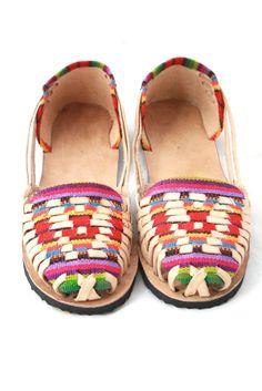 Women's Huaraches Sandals- Arco Iris