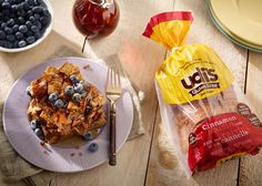 Nothing says #love like our #GF Overnight Cinnamon Raisin French Toast Bake. Impress someone special this weekend!  Udi's Overnight Cinnamon Raisin French Toast Bake | Udi's® Gluten Free Bread