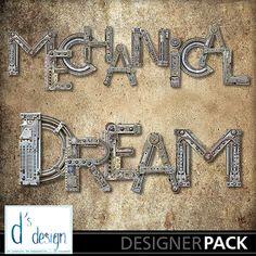 Mechanical Dream Alpha 1, a digital scrapbooking kit from MyMemories Digital Scrapbooking.