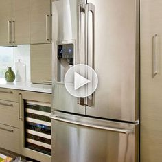 Learn our easy tips for #organizing your refrigerator: http://www.bhg.com/videos/m/34254841/organized-refrigerator.htm