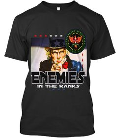 Official Enemies In the ranks T-Shirts | Teespring