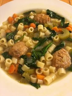Italian Wedding Ball Soup With Bilinskis Frozen Organic Style Meatballs We Followed Inas