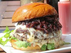 Meet the Hipster Jam Burger, Del Frisco Grille's special Santa Monica burger for National #Burger Month in May.