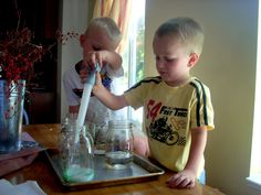 Magic Potions and Fizzing Formulas - Getting Kids' Attention w/ Chemistry!