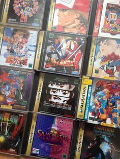 Some Sega Saturn Games