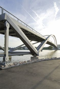 Three Countries Bridge, Weil-am Rhein, 2005