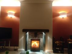 Wall lights in alcoves