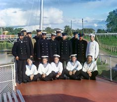 "Crew of the steamship ""Sheksna"""
