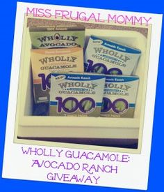 Welcome to the Wholly Guacamole: Avocado Ranch Giveaway
