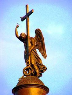 Ангелы Санкт-Петербурга.2. Александрийская колонна