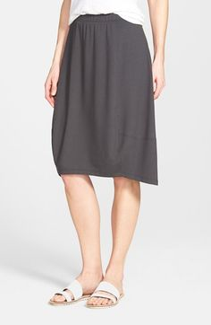 Eileen+Fisher+Knee+Length+Jersey+Lantern+Skirt+(Online+Only)+available+at+#Nordstrom