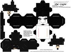 Cubee Eric Draven template by Anilewka on deviantART