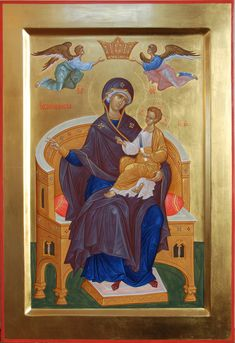 Whispers of an Immortalist: Icons of the Most Holy Theotokos 19 Religious Images, Religious Icons, Religious Art, Byzantine Icons, Byzantine Art, Blessed Mother Mary, Holy Mary, Madonna And Child, Orthodox Icons