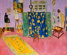 Matisse - 1911 – L'ATELIER ROSE                                                                                                                                                                                 Plus