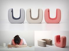 The Ototone pillow lets you take a break and rest your forehead against your workspace. Its horseshoe shape wraps around the sides of your head, not only keeping your ears warm, but it even allows you slip your earphones into it via sleeves located on both sides. You can then grab a brief session of shut-eye while listening to some soothing music, or better still, cue in an alarm, so that you can wake yourself up without anyone else hearing!