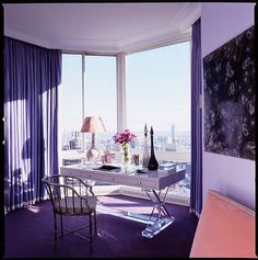 10 Examples of Pantone's 2012 Fashion Color Predictions in Rooms
