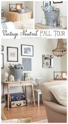 Vintage Neutral Fall Tour | So Much Better With Age
