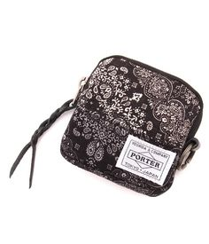 ESSENTIAL DESIGNS × PORTER / PAISLEY COIN CASE