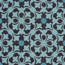 Encaustic mosaic tile