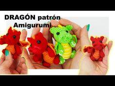 Amigurumi Dragón pequeño, patrón paso a paso - YouTube