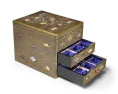 A lacquered storage box Meiji era (1868-1912), early 20th century