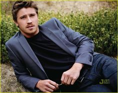 Garret-Hedlund -I hope the casting people look at this guy for Christian Grey from 50 Shades-- Wow, and Yum..