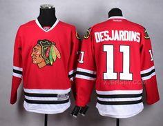 http://www.xjersey.com/blackhawks-11-desjardins-red-jersey.html BLACKHAWKS 11 DESJARDINS RED JERSEY Only 47.31€ , Free Shipping!