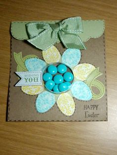 Cute Easter card using Sweet Surprises card kit