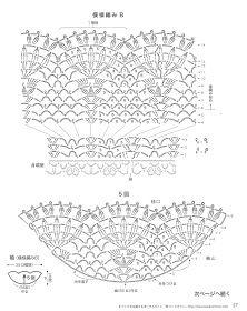 Crochet Knitting Handicraft: White blouse for girl Crochet Motifs, Crochet Diagram, Crochet Stitches, Crochet Patterns, Crochet Blouse, Crochet Poncho, Crochet Top, Crochet Sweaters, Irish Crochet