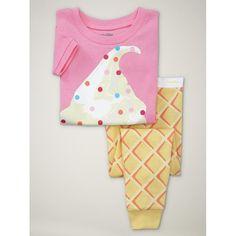 f0c5bdabe331 Ice cream PJs love these so cute soirée pyjama