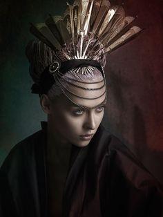 "Victoria Zuban in ""Haunted"" by David Benoliel for Fashion Gone Rogue, June 2014"
