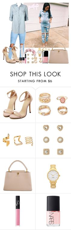 """""""Passion 4Fashion:  Baby On Board """" by shygurl1 ❤ liked on Polyvore featuring Forever 21, Louis Vuitton, Chanel, Kate Spade and NARS Cosmetics"""