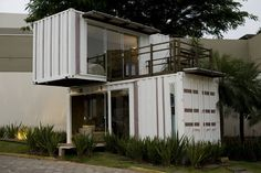 Loft-Container 20' : Casas minimalistas por Ferraro Habitat