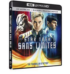 Star Trek Sans limites  4K Ultra HD + Blu-ray + Blu-ray bonus  NEUF
