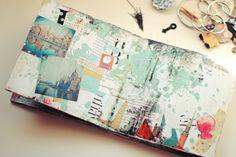 Rukidelaюt: альбом для Лены! #ArtJournal #MixedMedia #Collage