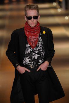 Défilé Saint Laurent, Men Fashion Week SS 2014