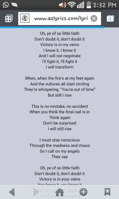 Katy Perry- Rise  Lyrics